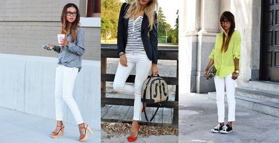 Beyaz Pantolon Altına Hangi Renk Ayakkabı Ne Renk Çorap Giyilmeli? - 1kombinimvar