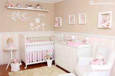 quarto de bebê com enxoval tema ovelhinhas