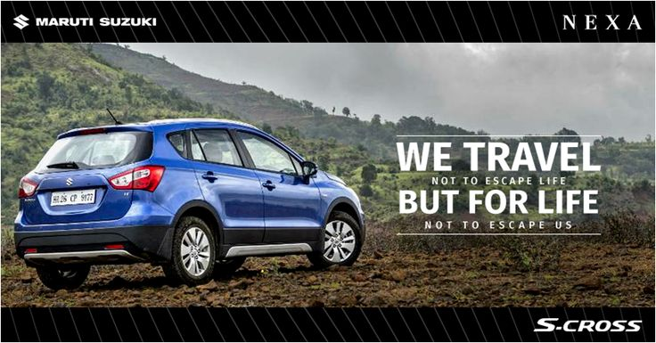 Get ready to explore and travel in the new S-Cross.