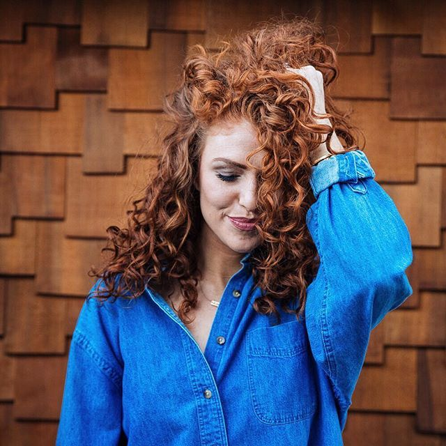 Since you've all been asking how I do my hair when it's super curly, the tutorial is now live on my blog! Link in bio. Cheers to lion's mane craziness... Our children are in for it;) Jeremy and I always joke about having red-headed, curly-afro, freckle-faced, twin dwarfs. Our genes are cray Don't forget to check out the discount codes in the video description and on my blog! #aujpoj #alwaysmore #curlyhair #hairtutorial  @liketoknow.it www.liketk.it/2b7hZ #liketkit