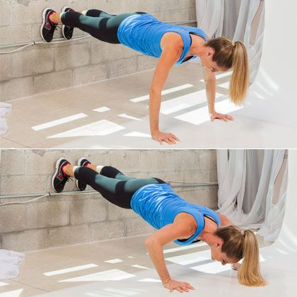 The Up-Against-the-Wall Workout - No floor space? No problem! This total-body workout uses a single wall to challenge every part of your body.