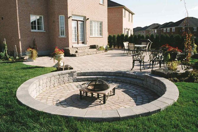 11 Best Images About Fire Pit Seating On Pinterest Fire