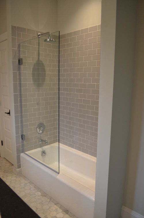 3x6 Subway Tile Shower