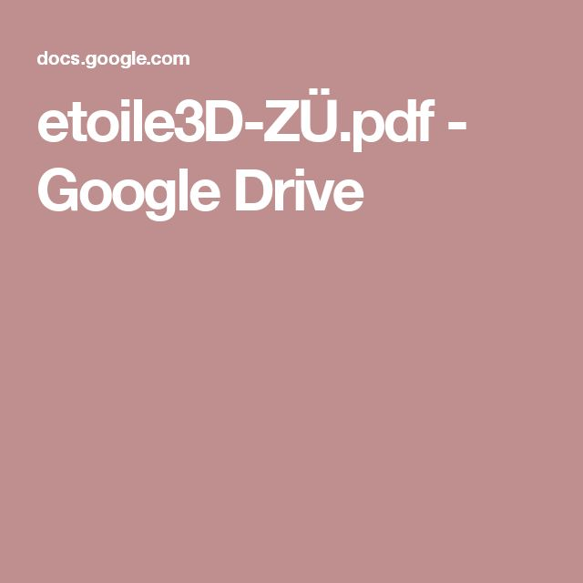 etoile3D-ZÜ.pdf - GoogleDrive