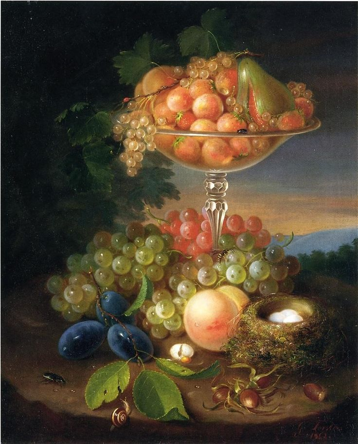 George Forster - Still Life With Fruit 1862