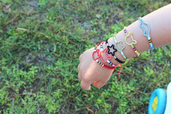Toddler macrame bracelets in my Etsy shop https://www.etsy.com/uk/listing/524288554/toddler-macrame-bracelets-baby-braided
