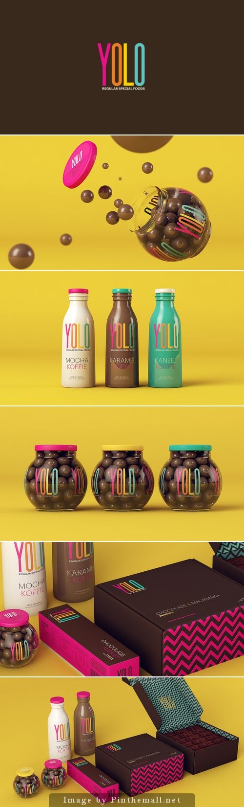 Yolo |Designed by Sweety Branding Studio | Designer: Isabela Rodrigues | Country: Brazil #packaging #branding #marketing PD