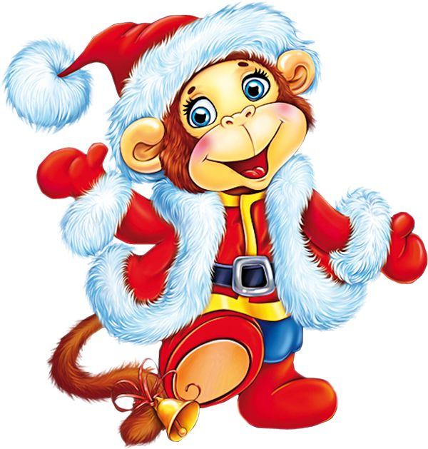 17 Best images about Clipart christmas animal on Pinterest | Natal ...