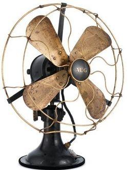 Ventilator, AEG, design: Peter Behrens