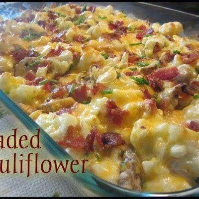 Move it and lose it.: Loaded Cauliflower