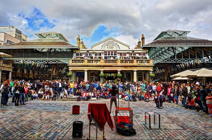 11 Secrets Of Covent Garden - Including why Seven Dials was nearly Six Dials.