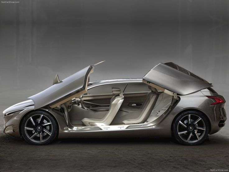 2012 Peugeot HX1 Concept. Kind of makes you want to have kids just to justify owning such an amazing people mover!