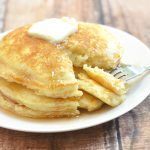 Plump and pillowy, these IHOP Pancakes copycat are just as tasty and delicious as what you'd find in the restaurant yet cost a fraction of the price. You can easily double the recipe to feed a large crowd or add chopped fresh fruits to the batter for another layer of yum.