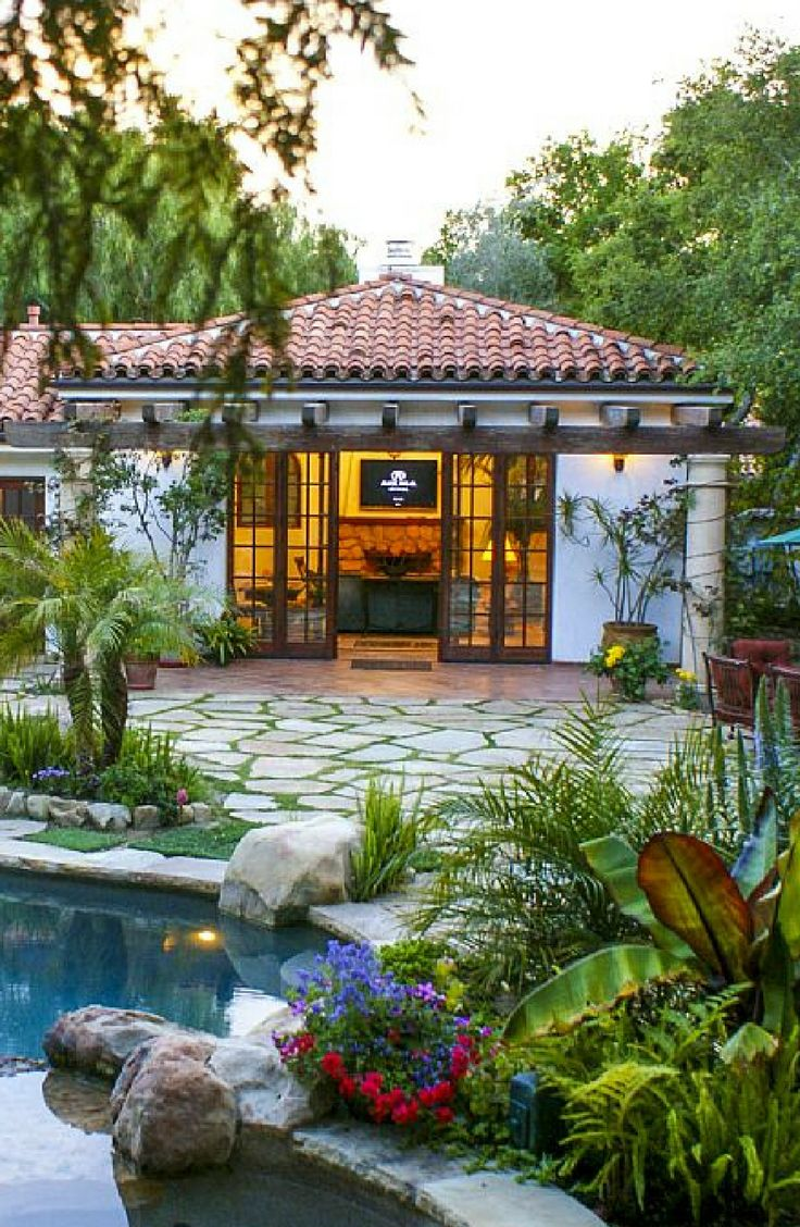 luxurious and splendid better homes and gardens publications. Romantic Luxury Cabana Rental with Pool in Santa Barbara County  California 28 best images on Pinterest