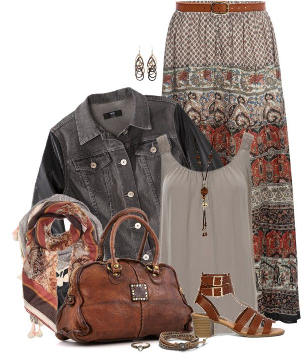 35+Pretty+Maxi+Skirt+Outfits+Polyvore+Combinations+This+Summer+-+Be+Modish+-+Be+Modish