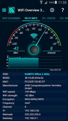 "WiFi Overview 360 Pro v3.60.05   WiFi Overview 360 Pro v3.60.05Requirements:4.1 and upOverview:WiFi Overview 360 and the Pro version is not only a WiFI-Scanner which shows all WiFis in range the app is much more. This app is a ""Swiss Army Knife"" for WiFis.  WiFi Overview 360 - The universal WiFi tool incl. Widgets  WiFi Overview 360 and the Pro version is not only a WiFI-Scanner which shows all WiFis in range the app is much more. This app is a ""Swiss Army Knife"" for WiFis.  With this tool…"