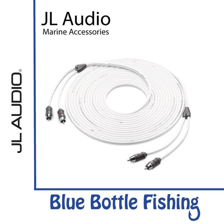 JLA 2-channel Marine Audio Interconnect Cable - 25 ft. (7.62 m)