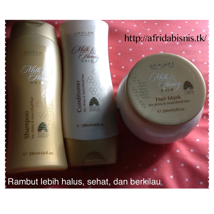 Love so much this hair care by Oriflame
