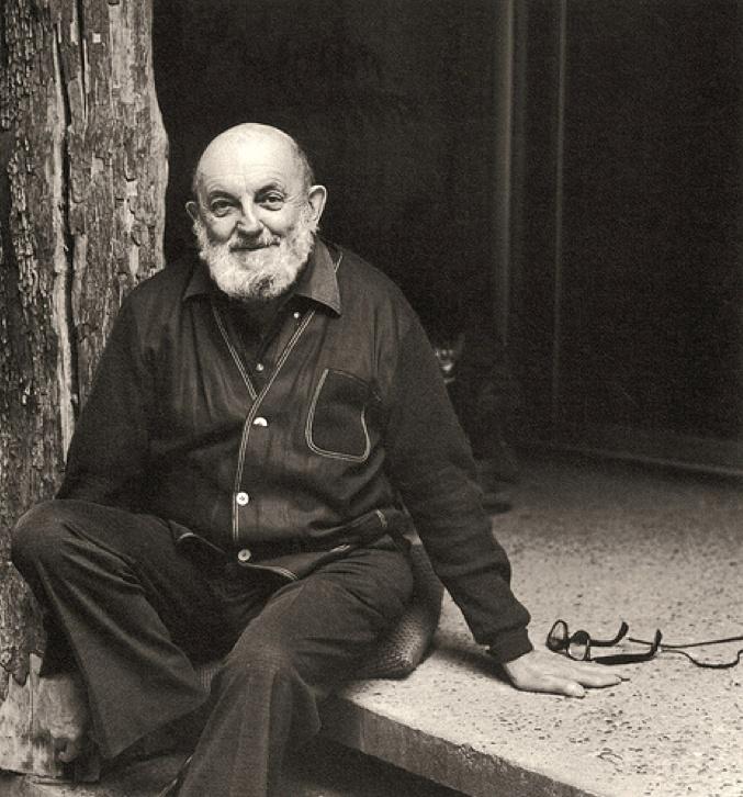 Ansel Adams Portrait by Imogen Cunningham
