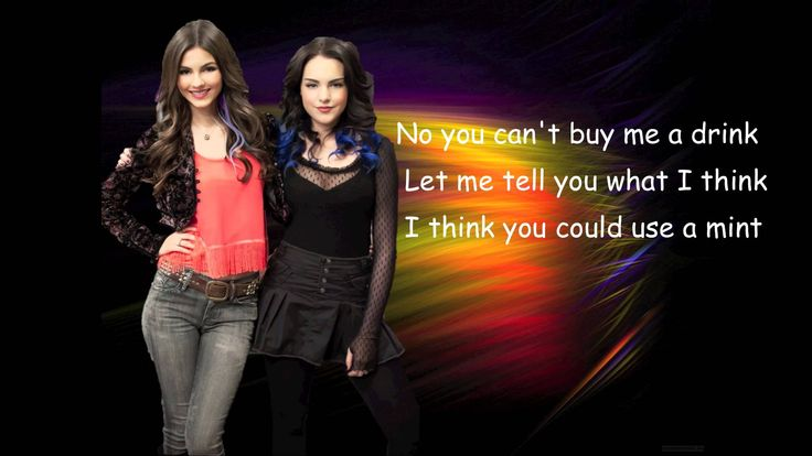 Victorious - Take a Hint (Lyrics) perfect song for that guy that WONT TAKE A HINT