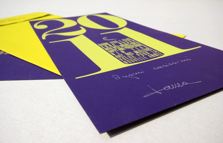 Invitation card by CREA OFFICINA