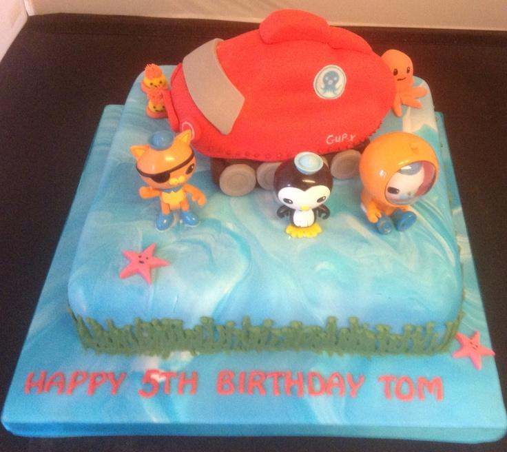 Octonauts Cake Easy