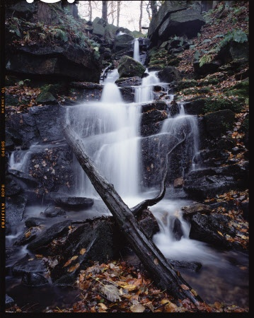 Waterfall at Hardcastle Crags, West Yorkshire. National Trust - Joe Cornish