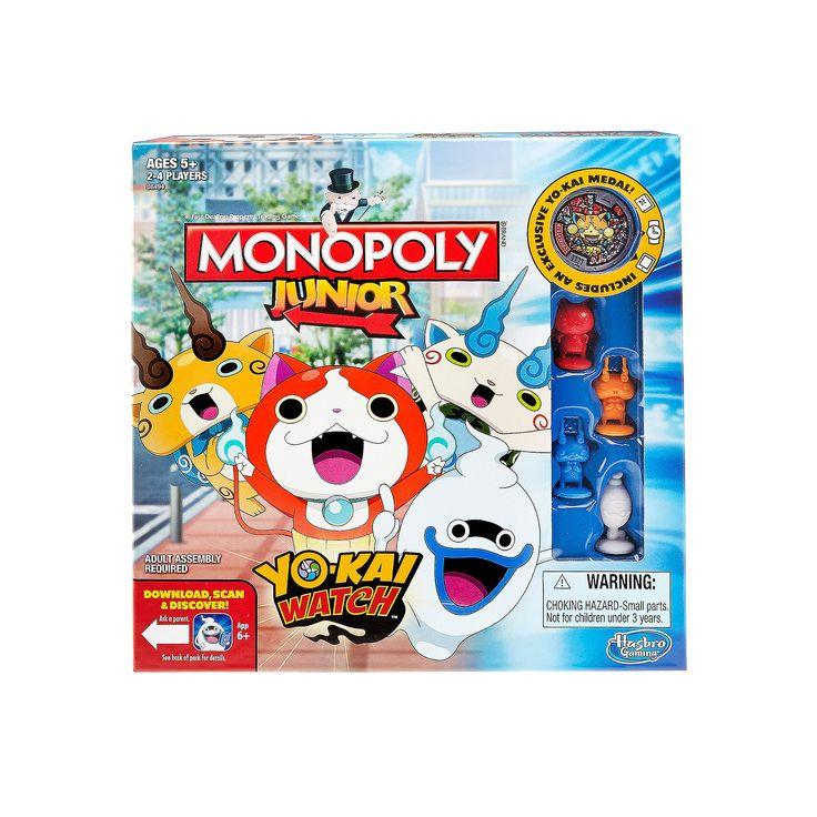 Monopoly Junior: Yo-kai Watch Edition, Multicolor
