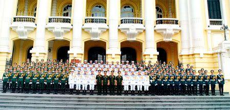 Quân phục danh dự Quân đội Nhân dân Việt Nam