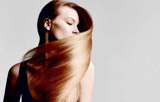 горячее масляное обертывание волос