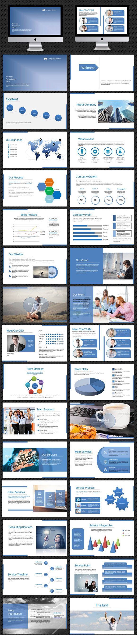 Check out PowerPoint presentation by sismic on Creative Market