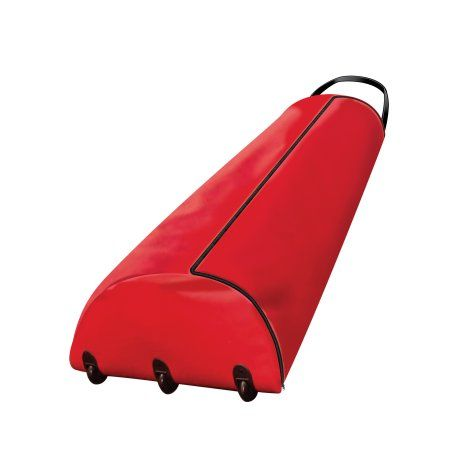 Christmas Tree Storage Bag with Rollers and Handle (For Trees Up to 9-feet), Red