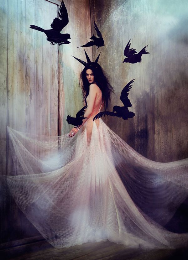Nightmarish Fairy Queen Photos - These Fantasy Photos are Inspired by the Evil Maleficent (GALLERY)