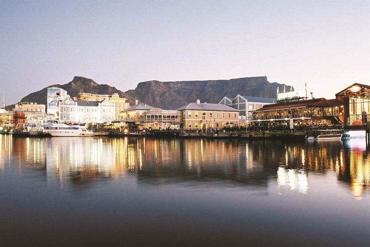 Stunning snap of the V & A Waterfront.