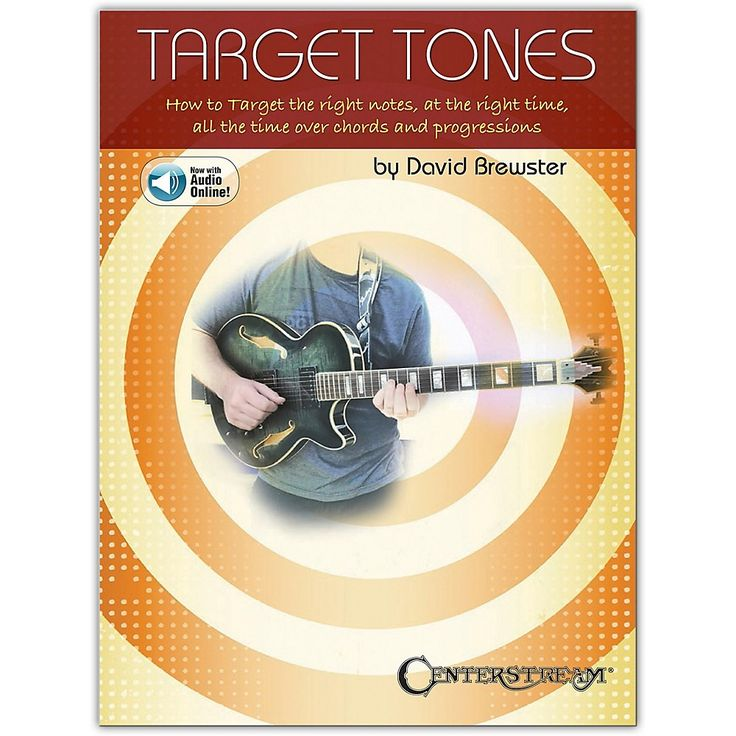 Centerstream Publishing Target Tones Soloing for Guitar Book/Online Audio