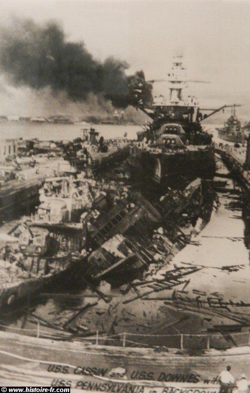 L'attaque sur Pear Harbor, décembre 1941