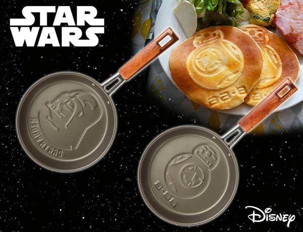 Star Wars BB-8 and Darth Vader Mini Frying Pans