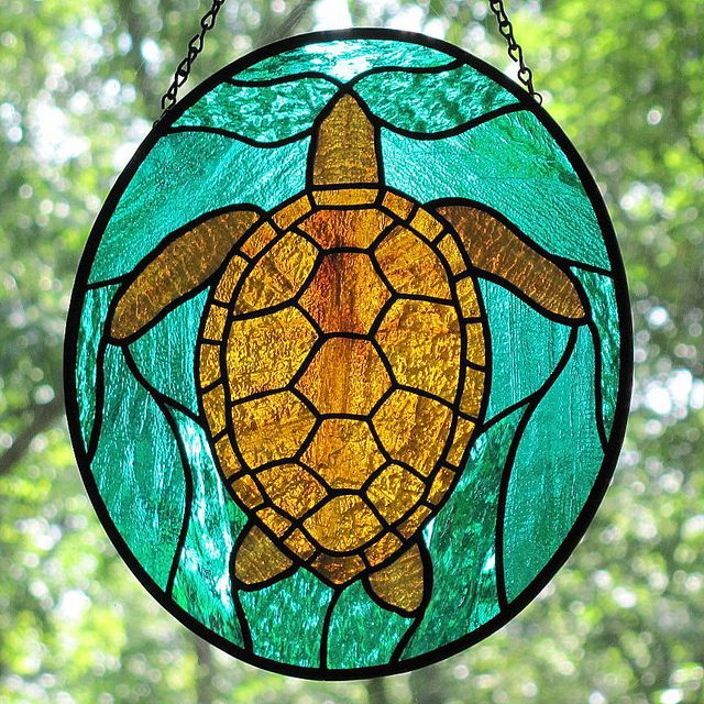 65 Best Stained Glass Turtles Images On Pinterest