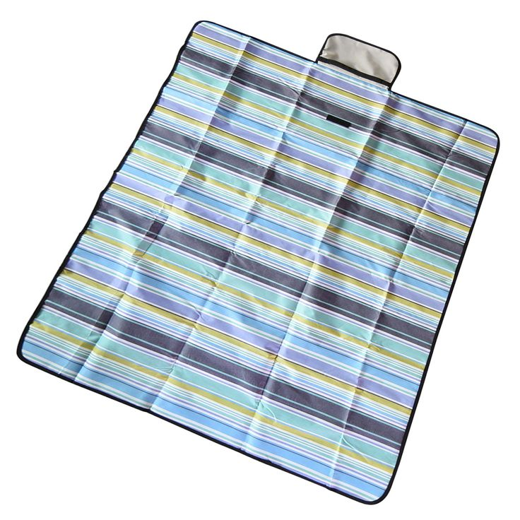 """Picnic Blanket, Outdoor Beach Blanket, Waterproof Picnic Blanket, Handy Mat with Strap for Camping Hiking Travelling(71"""" x 59""""). Outdoor picnic blanket, water sesistant oxford fabric top & waterproof PVC Bottom, durable and suitable for any outdoor/ indoor activities. Beach picnic blanket, built-in handles for easy transport, easy to carry and easy stotage. Large picnic blanket, multicolor offers, beantiful design, folds out to 71"""" x 59"""" and folds to a compact 10"""" x 9"""". Picnic blanket..."""