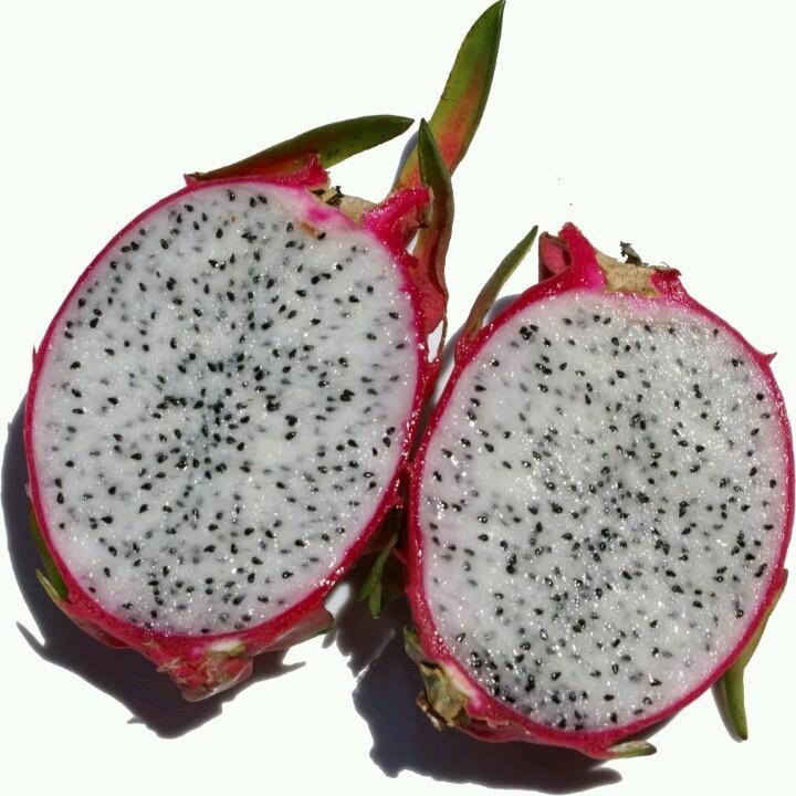 Pitaya: Dragon fruit- vitamin C (part of the cactus plant family)