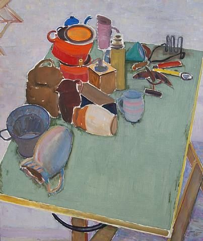 John Brack, The Breakfast Table, 1958