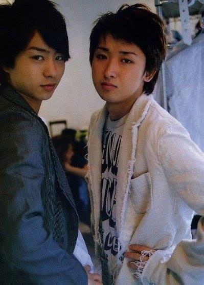 Arashi, Yama pair: Sakurai Sho and Satoshi Ohno.