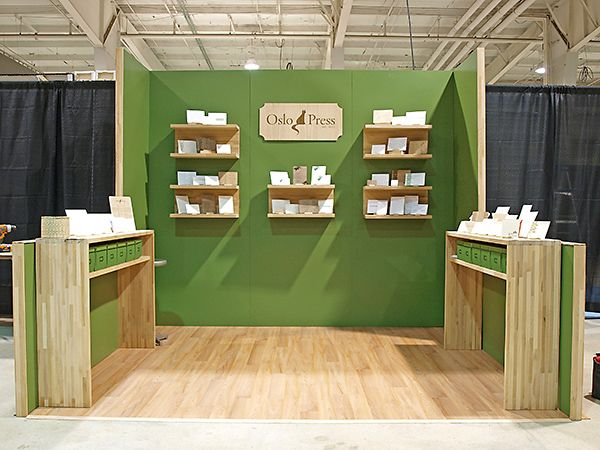 Display tables. http://www.oslopress.com/wp-content/uploads/2011/01/Raleigh-Wedding-Show-Booth-by-Oslo-Press-b.jpg