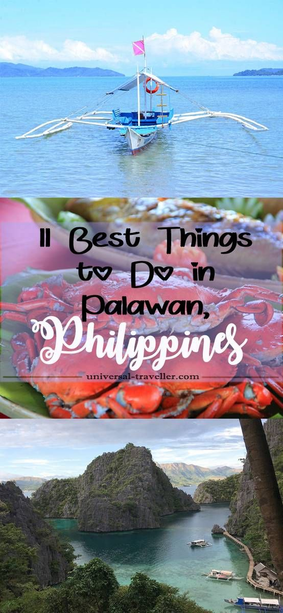 11 Best Things to Do In Palawan, Philippines. Read here what to do in Palawan and what to see in Palawan. A travel guide when you plan to travel to Palawan.