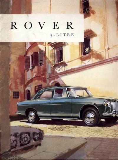 Rover P5 3-Litre