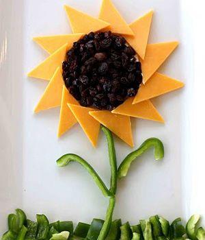 A Healthy Snack Idea: Sunflower Sandwich