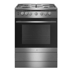 Amica 608GG5Ms(Xx) 60cm Single Cavity Gas Cooker - Stainless Steel