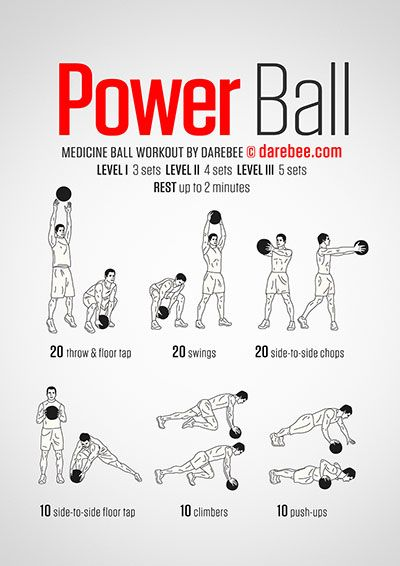Power Ball Workout | Darebee Workouts | Pinterest ...