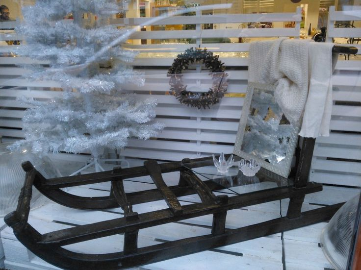 Our winter display couple of years ago. #winter #snow  #white