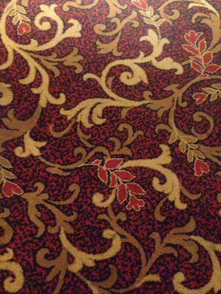 The Green Man pub carpet, Bank, London.